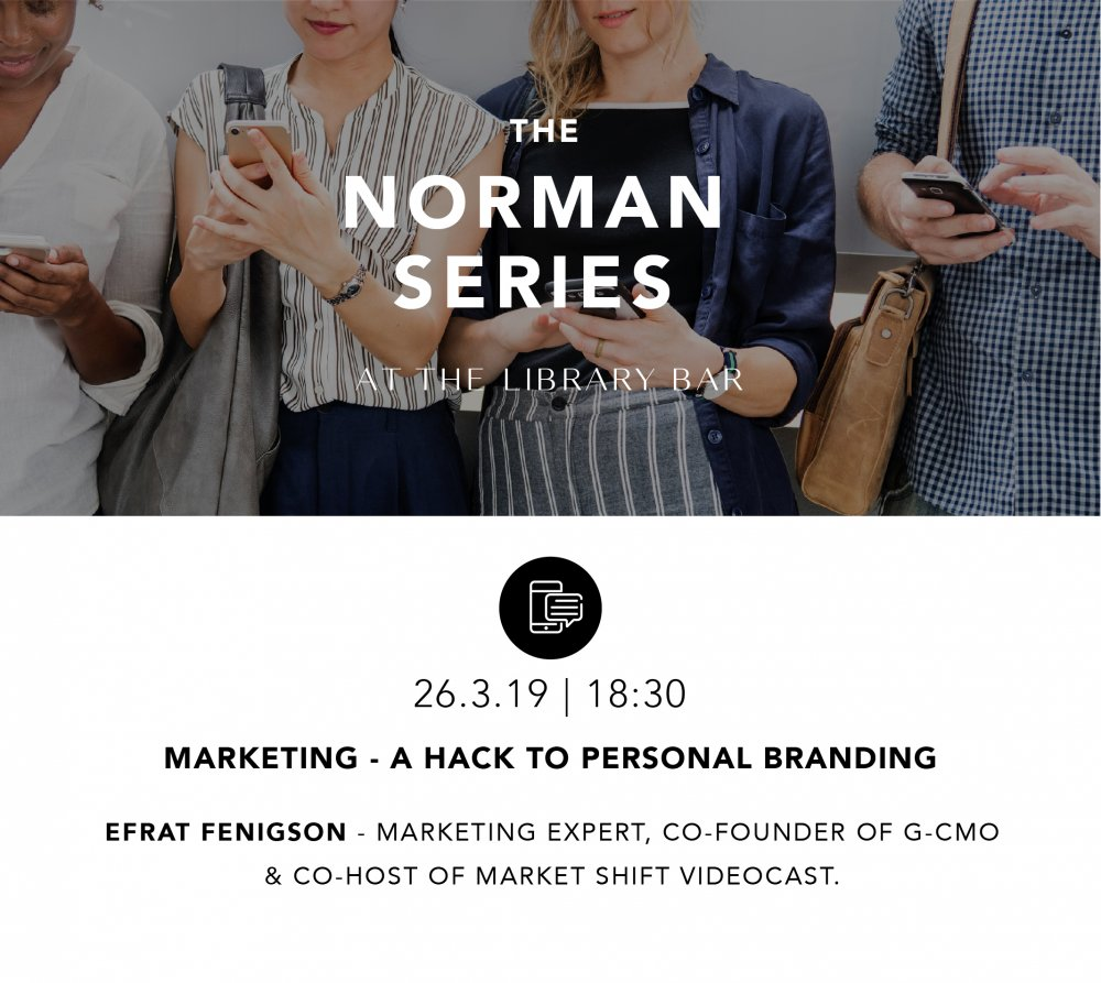 Marketing - a hack to personal branding - 26.3.19 - 18:30