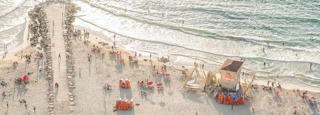 מלון על חוף הים בתל אביב